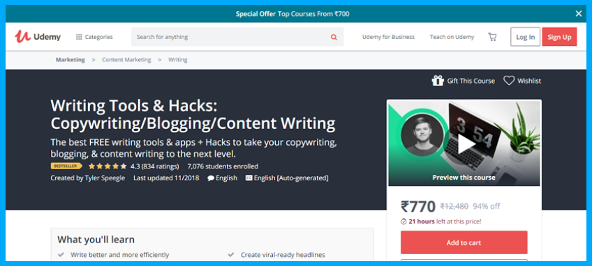 writing-tools-and-hacks-copywriting-content-writing-blogging-udemy-1